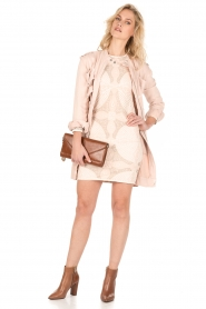 Hoss Intropia |  Long coat Kasare | old pink  | Picture 3