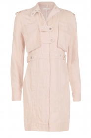 Hoss Intropia |  Long coat Kasare | old pink  | Picture 1