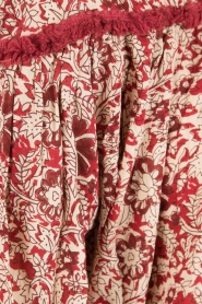 BEACHGOLD | Blouse Chilli | rood  | Afbeelding 6