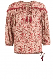 BEACHGOLD | Blouse Chilli | rood