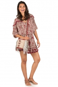 BEACHGOLD | Blouse Chilli | rood  | Afbeelding 3