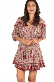 BEACHGOLD | Blouse Chilli | rood  | Afbeelding 2