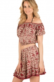 BEACHGOLD | Off-shoulder top Mawar | red  | Picture 3