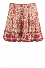 BEACHGOLD | Korte rok Chilli | rood  | Afbeelding 1