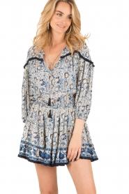 BEACHGOLD | Korte jurk Chilli | blauw  | Afbeelding 2
