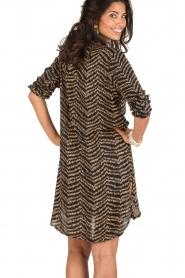 BEACHGOLD | Lange blouse Cruz | bruin  | Afbeelding 5