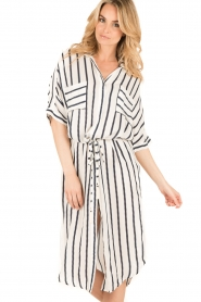 BEACHGOLD | Blouse jurk Mali | wit  | Afbeelding 2