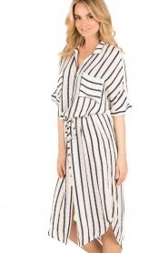 BEACHGOLD | Blouse jurk Mali | wit  | Afbeelding 4