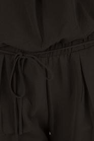 Aaiko | Off-shoulder jumpsuit Paili | zwart  | Afbeelding 6