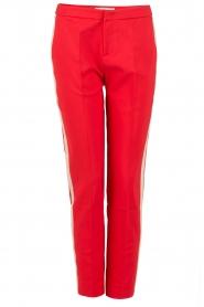 Aaiko | Pantalon Sarene | rood  | Afbeelding 1