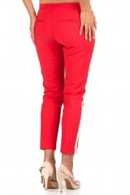 Aaiko | Pantalon Sarene | rood  | Afbeelding 5