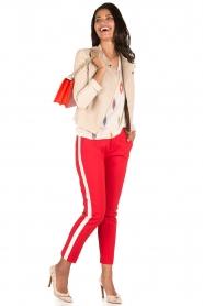 Aaiko | Pantalon Sarene | rood  | Afbeelding 3