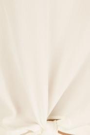 Aaiko | Geknoopte top Zippa | wit  | Afbeelding 6