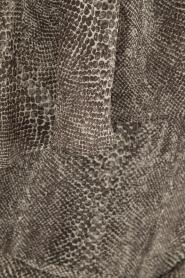 Aaiko | Off-shoulder jurk Janina | grijs  | Afbeelding 6