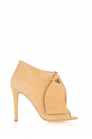 Morobé | Suéde peep toes Axcelle | beige  | Afbeelding 1