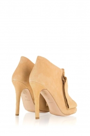 Morobé | Suéde peep toes Axcelle | beige  | Afbeelding 5