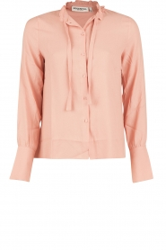 Essentiel Antwerp |  Pussybow blouse Nemo | pink  | Picture 1