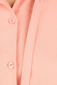 Essentiel Antwerp |  Pussybow blouse Nemo | pink  | Picture 6