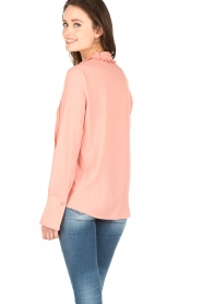Essentiel Antwerp |  Pussybow blouse Nemo | pink  | Picture 5