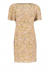 Essentiel Antwerp | Zijden jurk Nubble | roze  | Afbeelding 1