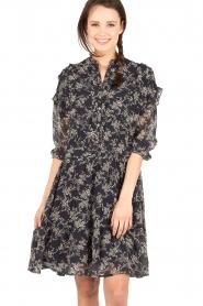 Essentiel Antwerp |  Dress Navier | blue  | Picture 2