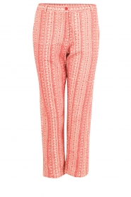Mes Demoiselles |  trousers Guilbert | red  | Picture 1