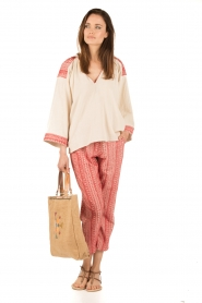 Mes Demoiselles |  trousers Guilbert | red  | Picture 3