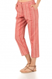 Mes Demoiselles |  trousers Guilbert | red  | Picture 4