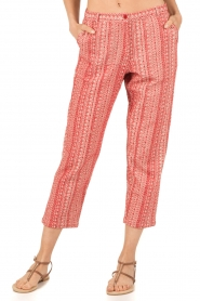 Mes Demoiselles |  trousers Guilbert | red  | Picture 2