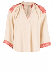Mes Demoiselles |  Blouse Guenaelle | red  | Picture 1