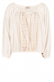 Mes Demoiselles |  Off-shoulder blouse Jeronimo | white  | Picture 1