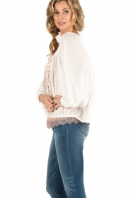 Mes Demoiselles |  Off-shoulder blouse Jeronimo | white  | Picture 3