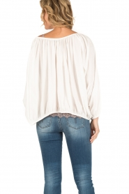 Mes Demoiselles |  Off-shoulder blouse Jeronimo | white  | Picture 4