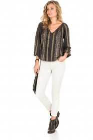 Mes Demoiselles |  Blouse Jaime |black  | Picture 3