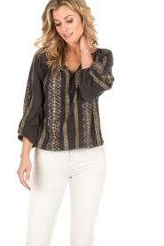 Mes Demoiselles |  Blouse Jaime |black  | Picture 2