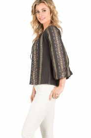 Mes Demoiselles |  Blouse Jaime |black  | Picture 4