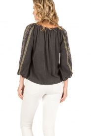 Mes Demoiselles |  Blouse Jaime |black  | Picture 5