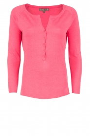 Blaumax |  Fine knitted sweater Granada | pink  | Picture 1