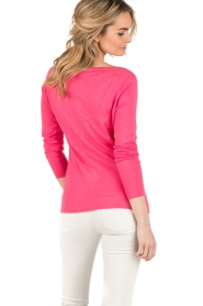 Blaumax |  Fine knitted sweater Granada | pink  | Picture 5