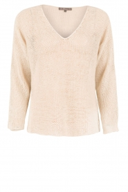 Blaumax |  Linen sweater Lynette | natural  | Picture 1