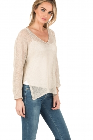 Blaumax |  Linen sweater Lynette | natural  | Picture 4