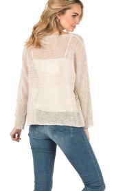 Blaumax |  Linen sweater Lynette | natural  | Picture 5