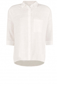 Linnen blouse Columbia | wit