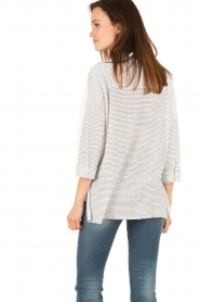 Blaumax |  Linen blouse Columbia Fine Stripe | stripes  | Picture 4
