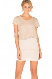 NIKKIE |  High waist skirt Judy | natural  | Picture 2