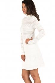 NIKKIE | Kanten jurk Jyll | wit  | Afbeelding 4