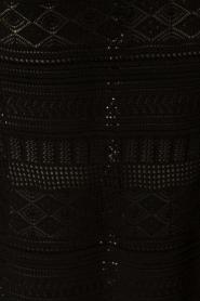 NIKKIE | Gehaakte maxijurk Jyll | zwart  | Afbeelding 6