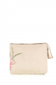 Star Mela | Jute clutch Malu | naturel  | Afbeelding 4