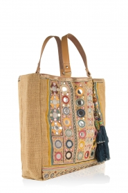 Star Mela | Jute shopper Pinki | naturel  | Afbeelding 3