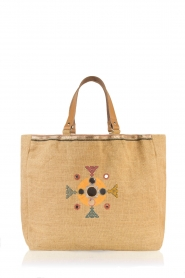 Star Mela | Jute shopper Pinki | naturel  | Afbeelding 4